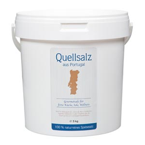 Quellsalz aus Portugal - 5kg
